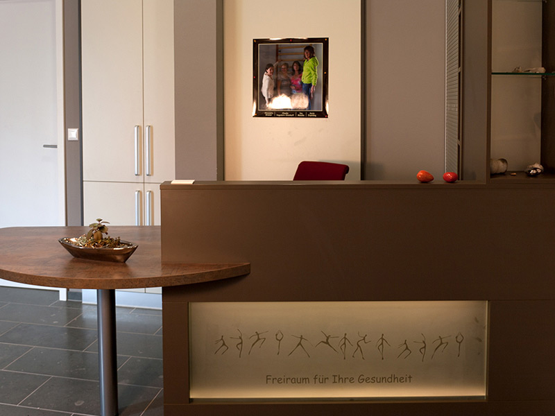 Physiotherapie Wiemer - Galerie - Empfang