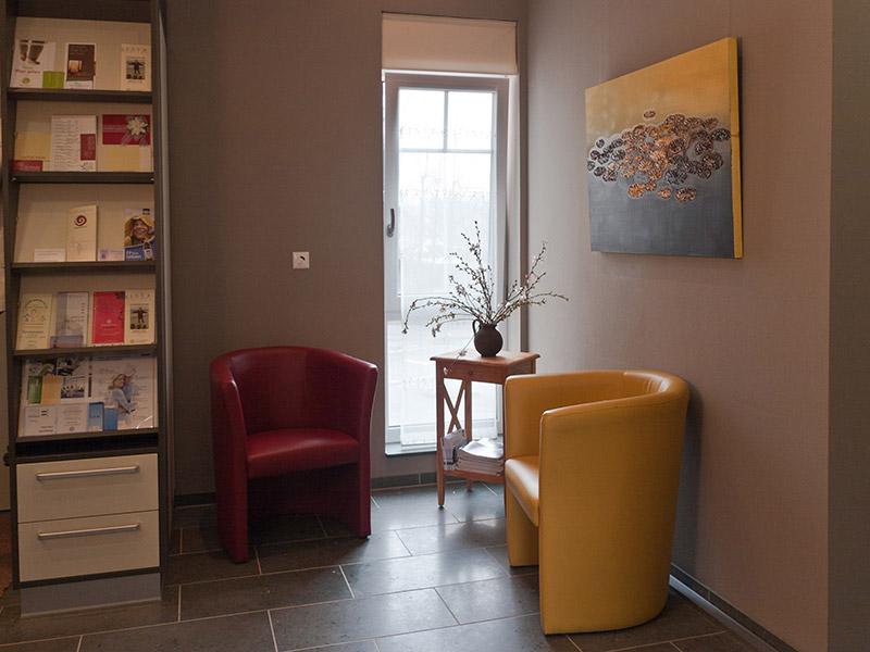 Physiotherapie Wiemer - Galerie - Wartezimmer